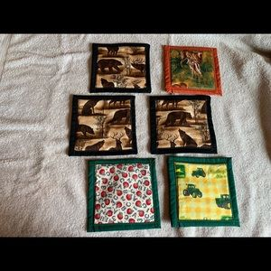 Other - Quilted assorted coasters